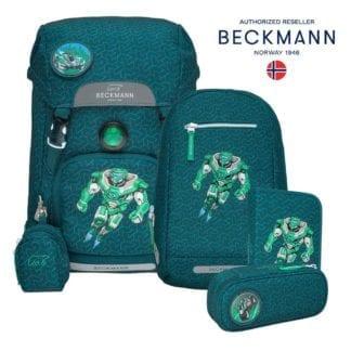 Beckmann Schulranzen Roboman Set 6-teilig Modell-2021 Set bei offiziellem Onlineshop norway-schulranzenshop.de