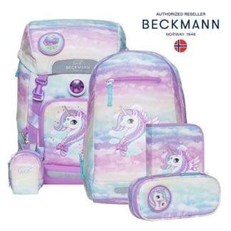 Beckmann Schulranzen Unicorn Classic Set 6-teilig Modell-2021 Set bei offiziellem Onlineshop norway-schulranzenshop.de