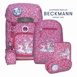 Beckmann Schulranzen Forest Friends Set 6-teilig Modell 2020 bei norway-schulranzenshop.de