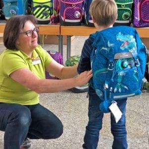 Beckmann - Der richtige Schulranzen für den Rücken des Kindes