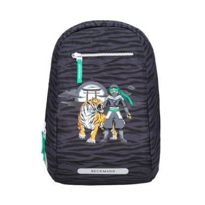 Beckmann Schulranzen Ninja Tiger 1. Klasse Set, 6-teilig (Taschenaufsatz)