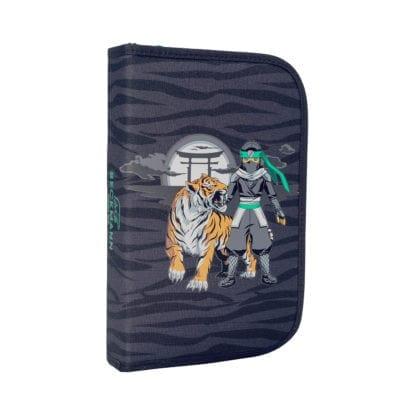 Beckmann Schulranzen Ninja Tiger 1. Klasse Set, 6-teilig (Mäppchen)