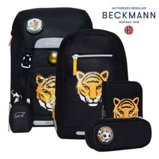 Beckmann Schulranzen Tiger Team classic Set 6-teilig Modell-2021 Set bei offiziellem Onlineshop norway-schulranzenshop.de