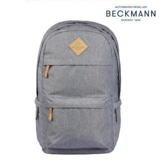 Beckmann Schulrucksack College Grey