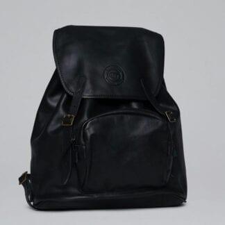Beckmann Lederrucksack Black