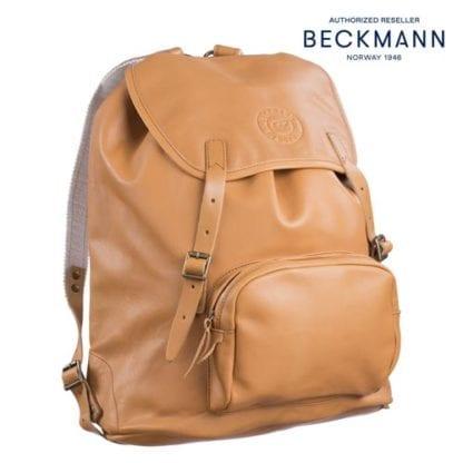 Beckmann Schulrucksack Lederrucksack