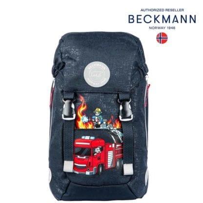 Beckmann Kindergartenrucksack Fire Truck Modell-2021 Set bei offiziellem Onlineshop norway-schulranzenshop.de