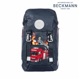 Beckmann Kindergarten Rucksack Fire Truck 3-teilig Modell 2020 bei norway-schulranzenshop.de