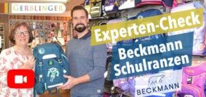 Vorschau Experten Video Beckmann Schulranzen im Härtetest