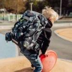 Beckmann Schulranzen Camo rex classic Set 6-teilig Modell-2021 fotoshooting bei offiziellem Onlineshop norway-schulranzenshop.de
