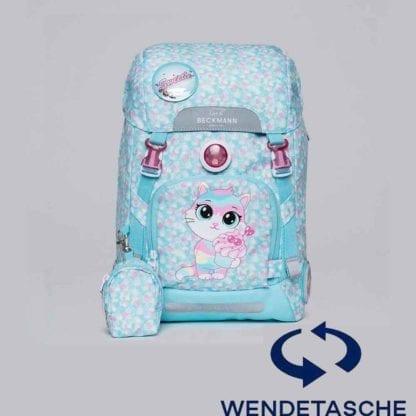 Beckmann Schulranzen active air flx Sweetie Wendetasche mit Set 6-teilig Modell-2021 Set bei offiziellem Onlineshop norway-schulranzenshop.de