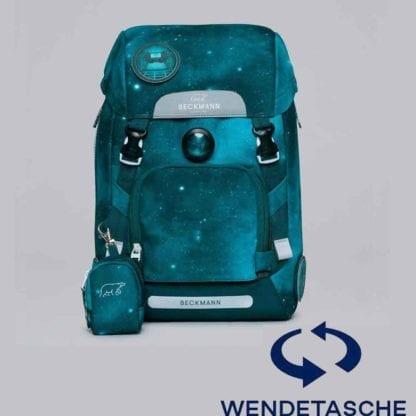 Beckmann Schulranzen active air flx ninja Wendetasche mit Set 6-teilig Modell-2021 Set bei offiziellem Onlineshop norway-schulranzenshop.de