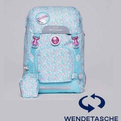 Beckmann Schulranzen active air flx Sweetie Wendetasche ohne Set 6-teilig Modell-2021 Set bei offiziellem Onlineshop norway-schulranzenshop.de