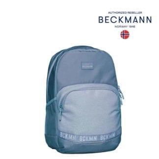 Beckmann Rucksack Sport Junior Blue Glitter 30 Liter Seite Modell-2021 Set bei offiziellem Onlineshop norway-schulranzenshop.de