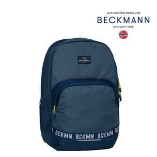 Beckmann Rucksack Sport Junior Blue Colorblock 30 Liter Modell-2021 bei offiziellem Onlineshop norway-schulranzenshop.de