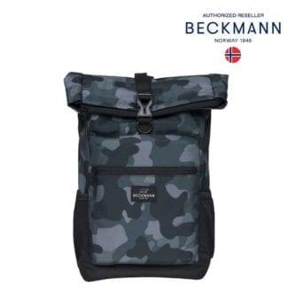 Beckmann Rucksack Sport Light Rolltop Camo Seite 20 Liter Seite Modell-2021 Set bei offiziellem Onlineshop norway-schulranzenshop.de