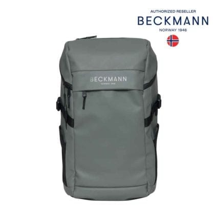 Beckmann Rucksack Street FLX Green 33 Liter Modell-2021 Set bei offiziellem Onlineshop norway-schulranzenshop.de