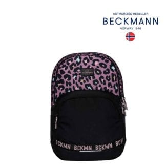 Beckmann Rucksack Sport Junior Dark Safari 30 Liter Seite Modell-2021 Set bei offiziellem Onlineshop norway-schulranzenshop.de