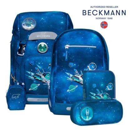 Beckmann Schulranzen Galaxy Classic Set 6-teilig Modell-2021 Set bei offiziellem Onlineshop norway-schulranzenshop.de