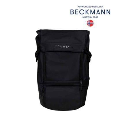 Beckmann Rucksack Street Light Schwarz 22 Liter Modell-2021 Set bei offiziellem Onlineshop norway-schulranzenshop.de