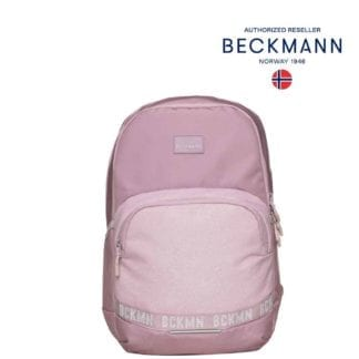 Beckmann Rucksack Sport Junior Pink Glitter 30 Liter Modell-2021 Set bei offiziellem Onlineshop norway-schulranzenshop.de