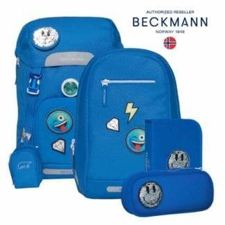 Beckmann Schulranzen Patch Classic Set 6-teilig Modell-2021 Set bei offiziellem Onlineshop norway-schulranzenshop.de